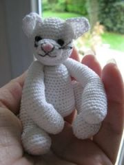 chat amigurumi, chat, crochet