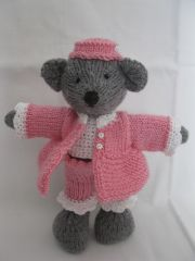 ours,doudou, tricot