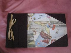 cartonnage,carnet voyage, album photo