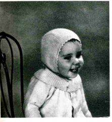 tricot, layette, vintage