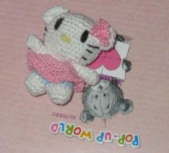 amigurumi, hello kitty, HK, crochet