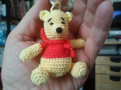 crochet,amigurumi,winni,ours,miniature