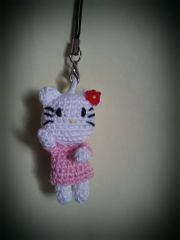 hello kitty, crochet, amigurumi