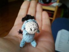 amigurumi,crochet,miniature,bourriquet